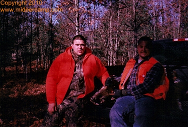 Deer Camp 2002 with Ben Hartman