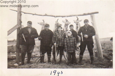 Historic Deer Camp Photos