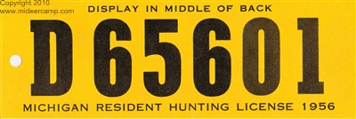 Historic Hunting Licenses