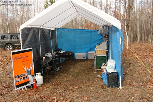 Kitchen ready for cooking pic11 ... & MI Deer Camp 2012