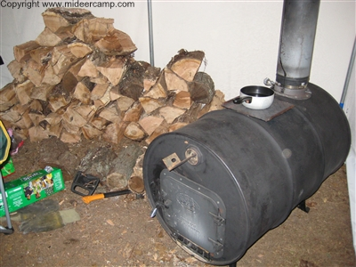 Wood Burner in the Corner of the Wall Tent ... & Wall Tent Guide